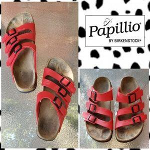Birkenstock/Papillio Red Sandals